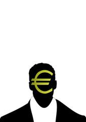 uomo con gli euro