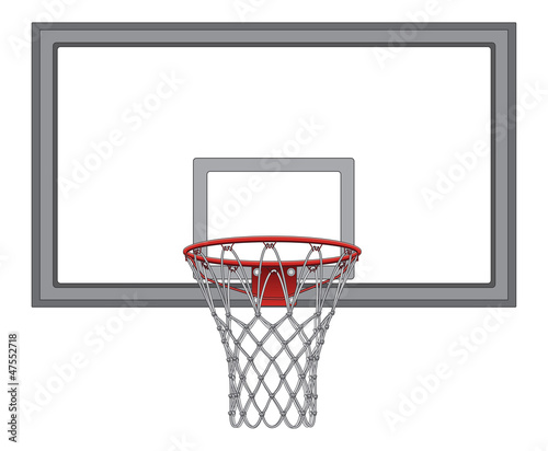 Basketball Net With Backboard