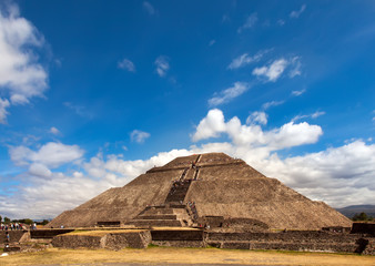 Pyramid of the Sun, Teotihuacan, Mexico