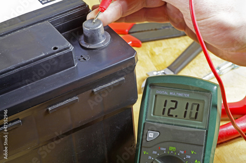 isolated battery and meter