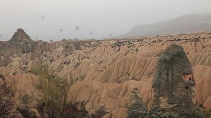 air balloon trip at Famous city  Cappadocia