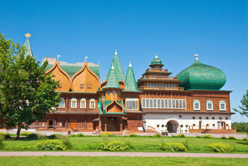 The wooden palace of Tsar Aleksey Mikhailovich, Moscow