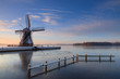 Dutch windmill @ winter