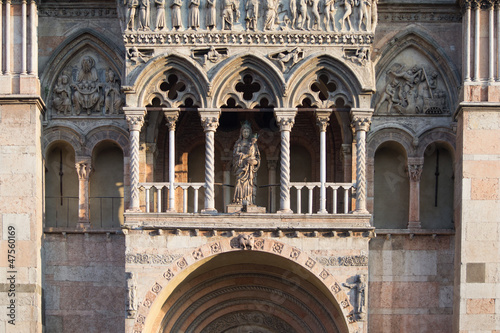 particular of the cathedral of Ferrara