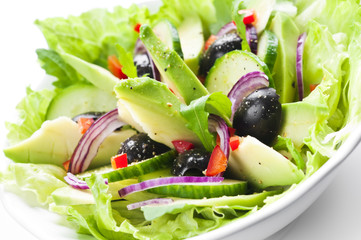 Salad with Avocado
