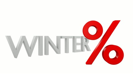 WINTER % - 3D Video