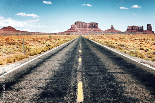 Poster long road