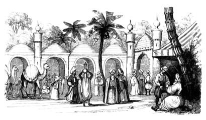 Traditional Arabia : Street Scene