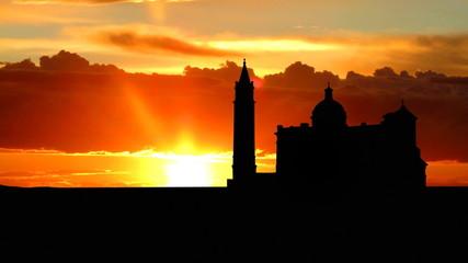 Malta Gozo Ta  Pinu sunrise