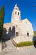 St. Nikola Church in Town of Komiza on Vis Island Off the Croati