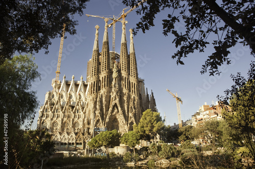 Sagrada Familia, Nativity Façade. Barcelona