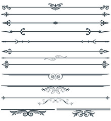 Page decoration set
