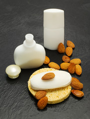 almond spa accessories