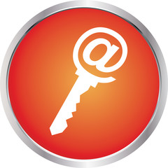 icon key arrobas red