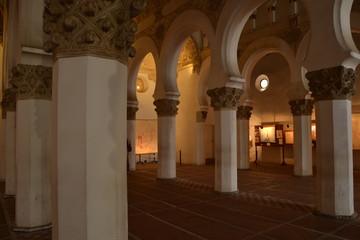 Sinagoga Santa Maria La Blanca en Toledo