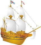 English galleon