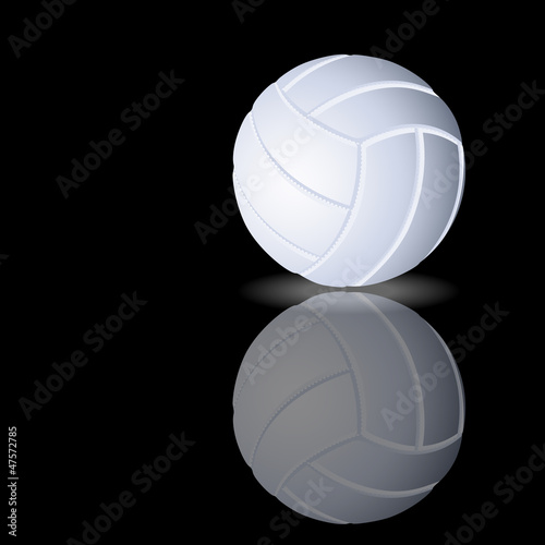 Vector volleyball on a smooth surface