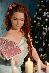 cartomancy on Christmas Eve