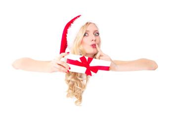 frau weihnachten