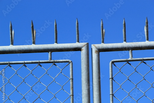 Close up of fence