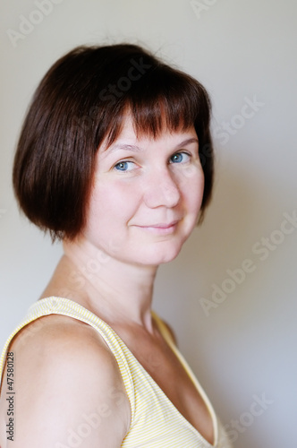 Attractive middle age woman