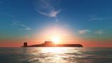 Naklejka 潜水艦