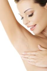 Woman's armpit