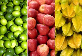 healthy colorful citruses texture