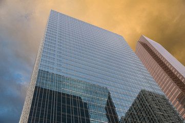 Buildings in Calgary, Canada