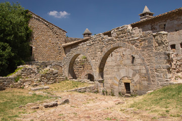 Arches of Thoronet Abbey (France)