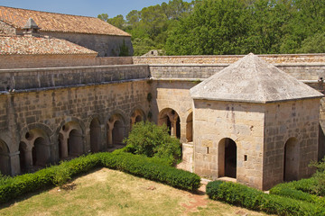 Thoronet Abbey from the Cistercian order in France.