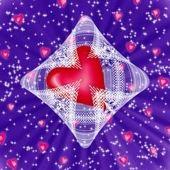 сердце в кружевах