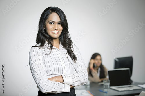 Indian Business woman in the office.