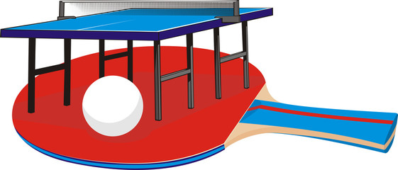 table tennis - equipment