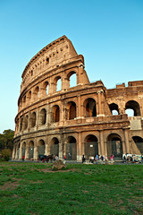 Rome, the Colosseum