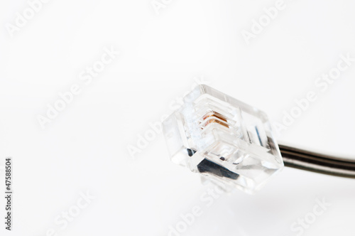 Phone connector cable
