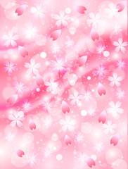 背景 桜 ピンク
