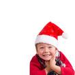 Weihnachtsmännchen, isoliert