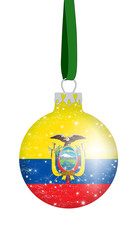 Christbaumkugel Ecuador