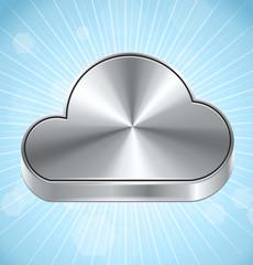 Vector Cloud Computing Icon