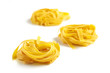 Italian pasta nests
