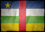 CENTRAL AFRICAN REPUBLIC NATIONAL FLAG