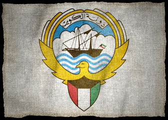 KUWAIT ARMS NATIONAL FLAG