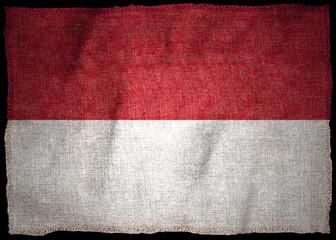 MONACO NATIONAL FLAG