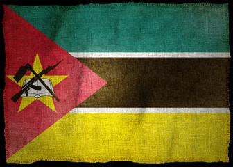 MOZAMBIQUE NATIONAL FLAG