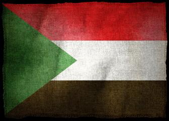 SUDAN NATIONAL FLAG