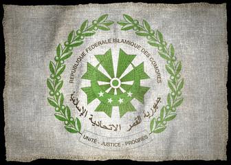 THE COMOROS ARMS NATIONAL FLAG