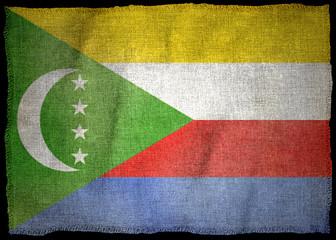 THE COMOROS NATIONAL FLAG