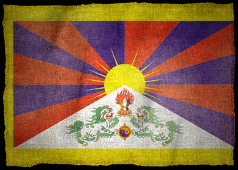 TIBET NATIONAL FLAG