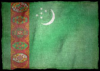 TURKMENISTAN NATIONAL FLAG